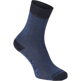 Craghoppers NosiLife Calcetines Pack de 2 Hombre, dark navy/soft denim stripe